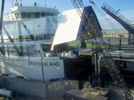 Fähranleger in Rödby-Hafen - Fährhafen Puttgarden