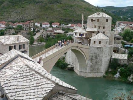 Mostar ein bischen Orient - Brücke Stari Most