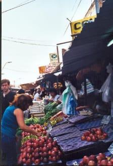 Petirossi-Markt in Asunción - Mercado Municipal Nº 4