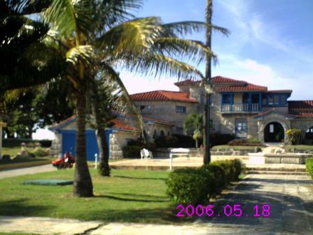 Früher das Haus von Al Capone heute Restaurante AL - Casa de Al Capone