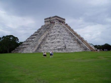 Pyramide Chitchen Itza - Ruine Chichén Itzá
