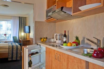 Economy Plus mit Küche - Apartment-Hotel Hamburg Mitte