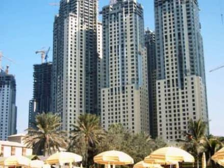 Hochhäuser - Zentrum Dubai