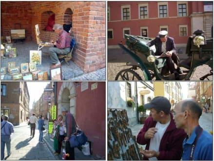 Impressionen aus Altstadt in Warschau - Altstadt Warschau/Warszawa
