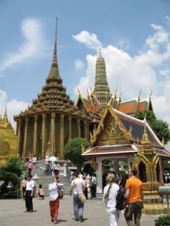 Tempelanlage - Wat Phra Keo und Königspalast / Grand Palace