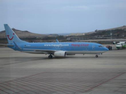 Unser Flieger - Flughafen Gran Canaria (LPA)