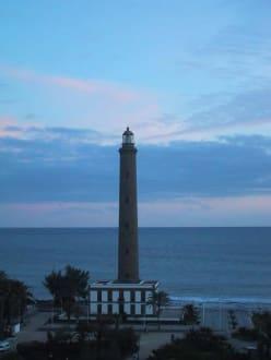 Leuchtturm von Maspalomas oder Meloneras - Leuchtturm