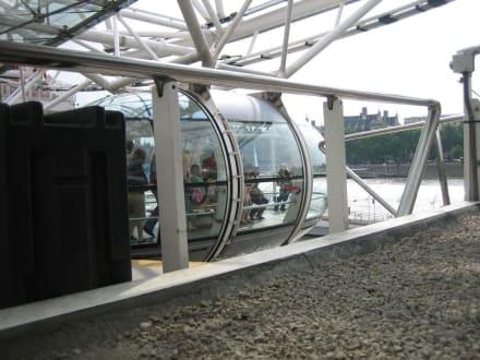London Eye - Einstieg - London Eye