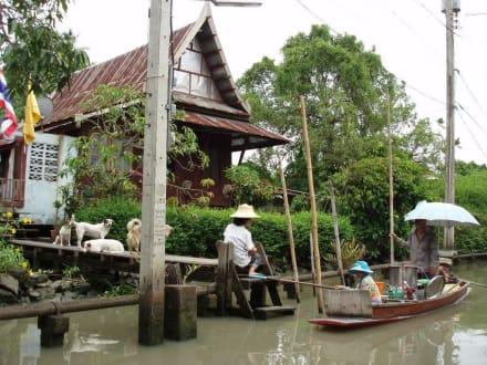 Schwimmender Händler! - Klong Tour