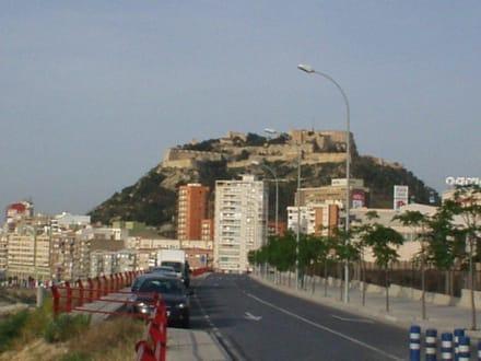 Festung SANTA BARBARA in Alicante - Castillo de Santa Bárbara