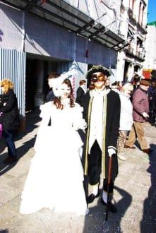 Kostüme-Masken-Show Venedig 2011 - Karneval