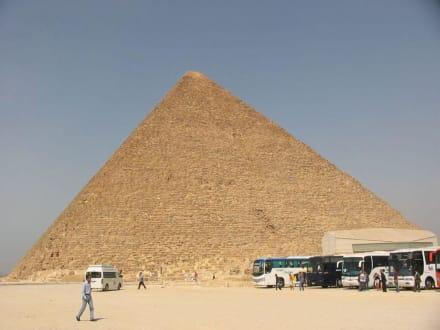 Kairo - Pyramiden von Gizeh
