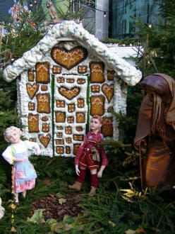 Großes Hexenhaus - Weihnachtsmarkt Dortmund
