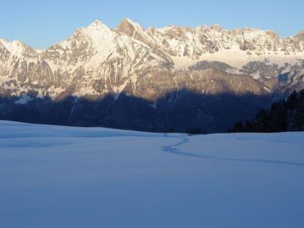 Abendstimmung - Skigebiet Flumserberg