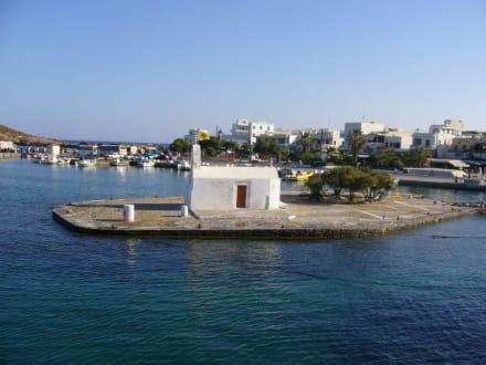 Panagia Mirtidiótissa - Hafen Naxos Stadt