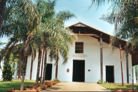 Franziskanerkirche in Jaguaron - Franziskanerkirche in Jaguaron