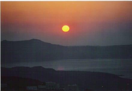 Sonnenuntergang - Altstadt Pyrgos