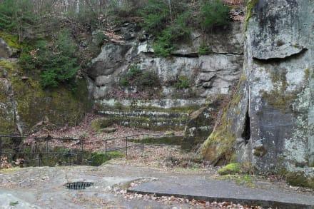 Pützlöcher im Butzbachertal - Eifelsteig