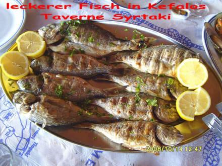 lecker Fisch - Restaurant Syrtaki