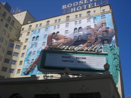 Roosevelt Hotel - Hollywood Walk of Fame
