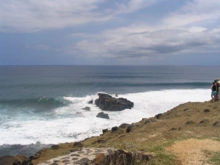 Strand von Gris Gris - Tour durch den Süden