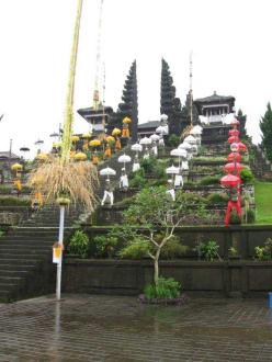 Muttertempel - Pura Besakih - Muttertempel Pura Besakih - Pasar Agung