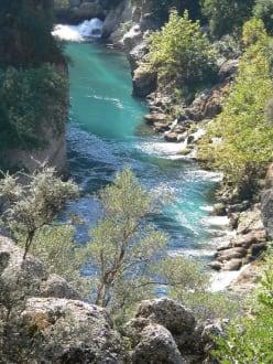 Köprülü-Canyon - Köprülü Canyon Nationalpark
