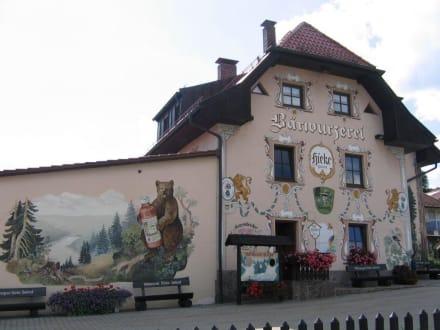 Wolpertinger in Zwiesel - Bärwurzerei