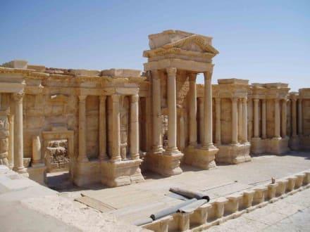Amphittheater in Palmyra - Ruine Palmyra