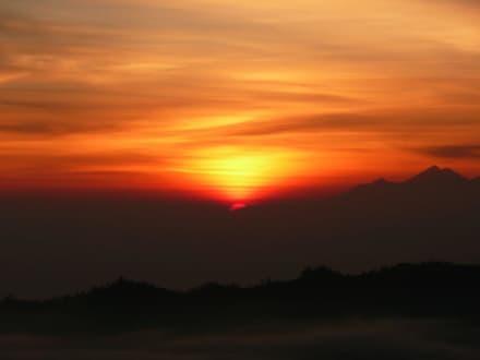 Sonnenaufgang auf Mt. Batur - Batur Vulkan
