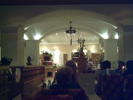 Buffet/ Speisesaal - Hotel Edelweiss