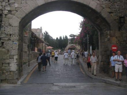 Stadttor - Stadtmauer Rhodos