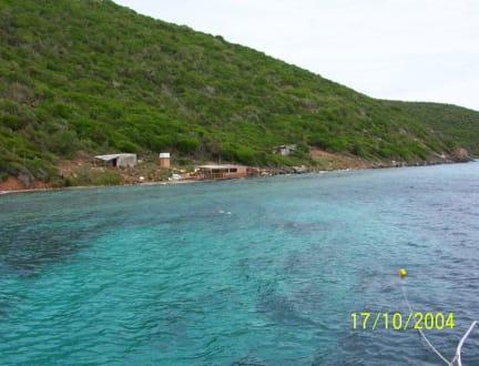 Die Insel Los Frailes - Segeltour Isla de Coche-Isla Los Frailes
