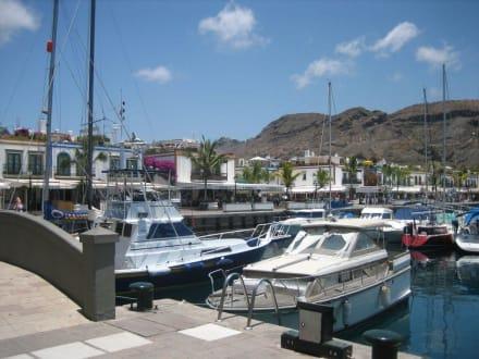 Hafen-Promenade - Hafen Puerto de Mogán