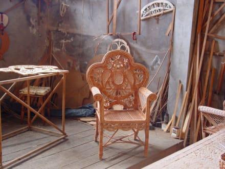 Ein Platz für die Entspannung - Korbflechterei Camacha
