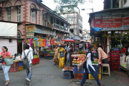 Marktszenen - Bombay
