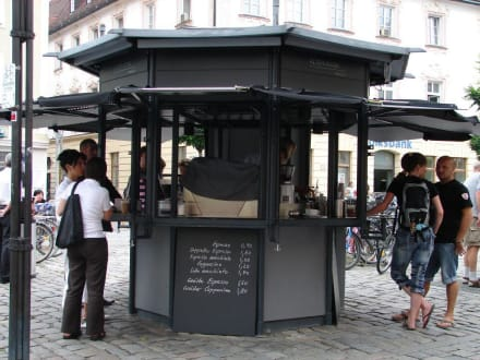Historischer Kiosk - Altstadt Straubing