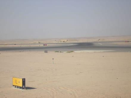 Hurghada Airport Startbahn - Flughafen Hurghada (HRG)
