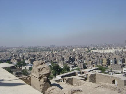 Aussicht auf Kairo - Alabaster-Moschee / Mohammed Ali Moschee