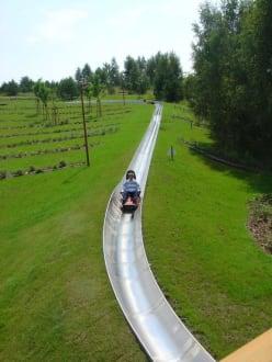 Abwärts - Erlebnispark Teichland