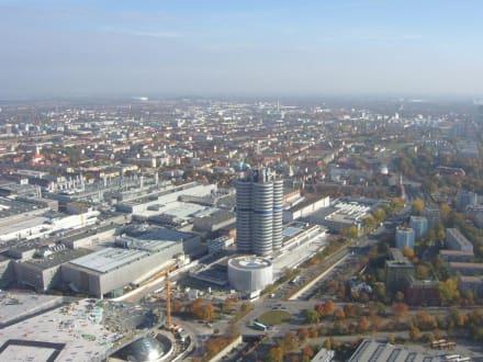 Blick vom Fernsehturm - Olympiapark