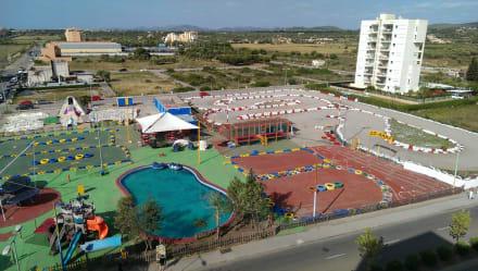 Quot Kartbahn Quot Bild Smartline La Santa Maria Playa In Cala