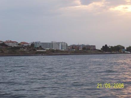 Hotel Iberostar Festa Panorama vom Meer aus - Nessebar Umgebung