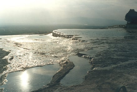 Terrassenspiegel_Pamukkale - Kalksinterterrassen von Pamukkale