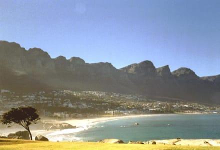 Camps Bay und die 12 Aposteln - Strand Camps Bay