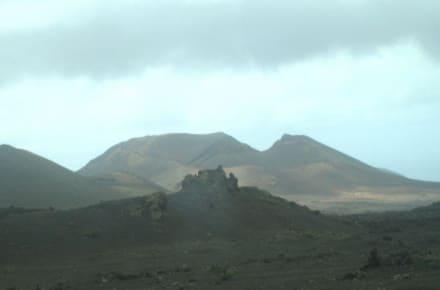 So ähnlich muß es auf dem Mond aussehen... - Nationalpark Timanfaya (Feuerberge)