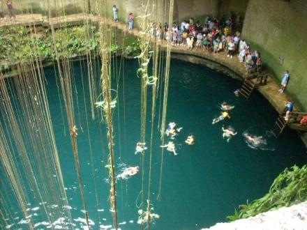 Die Wasserstelle - Ruine Ek Balam