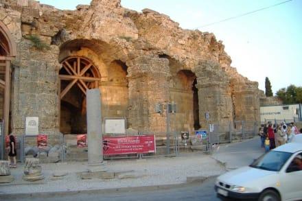 Antik-Theater in Side - Amphitheater in Side