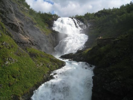 Wasserfall - Flåmsbahn