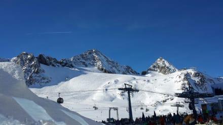 Skigebiet Gletscher - Stubaier Gletscher